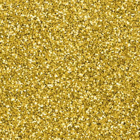 Seamless gold glitter textured background
