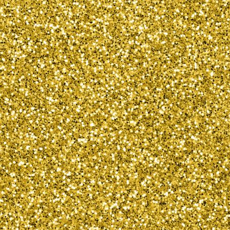 Seamless gold glitter textured background