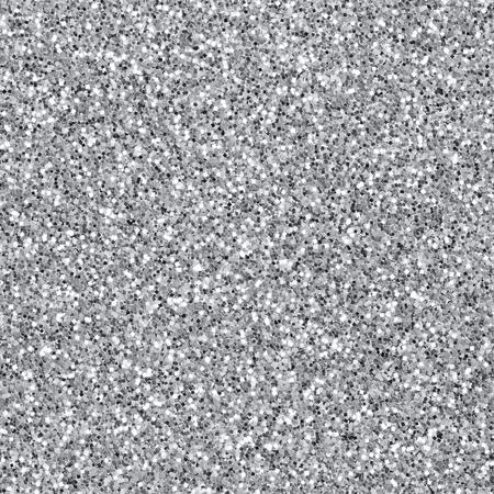 Naadloze zilveren glitter gestructureerde achtergrond Stockfoto