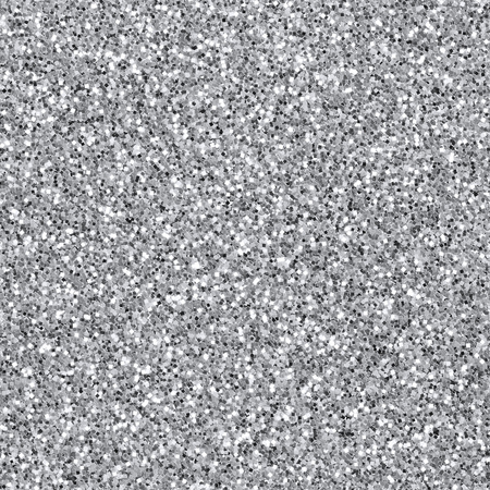 Seamless silver glitter textured background