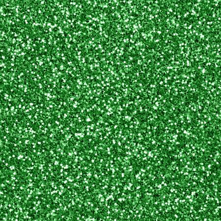 glitter gloss: Seamless green glitter textured background Stock Photo