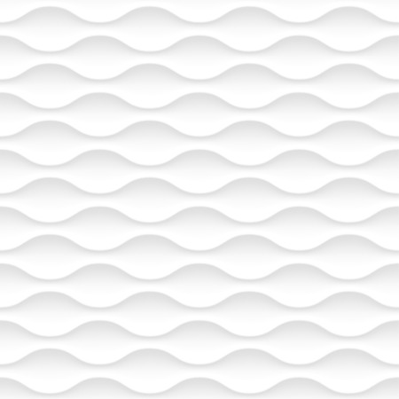 Seamless vector white background of abstract waves