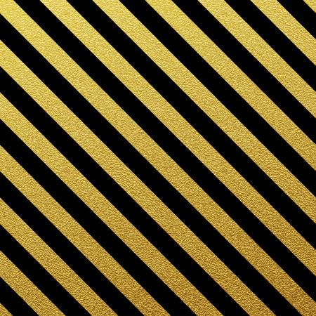 rayas: Oro brillante patrón de líneas sin fisuras en el fondo blanco Vectores