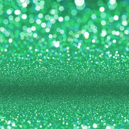 verdant: Abstract green shining glitter texture background Stock Photo