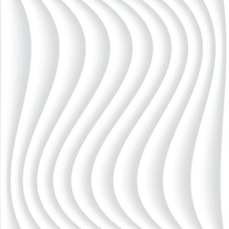 textured wall: White seamless wavy textured background. Interior wall decoration. Illustration