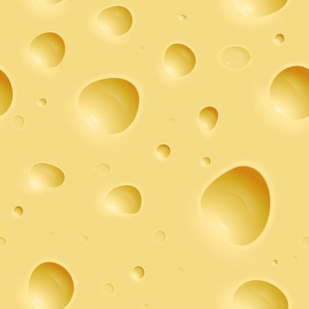 Seamless cheese texture Illustration