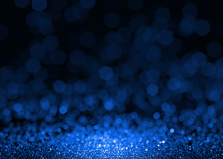 luxury background: Abstract blue sparkle glitter background. Stock Photo