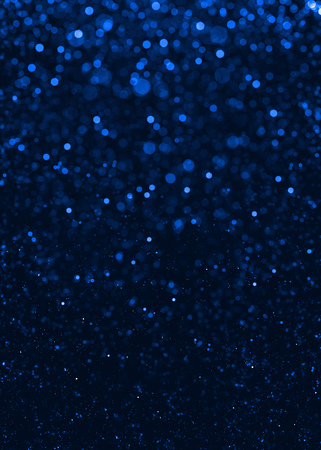 Abstract blue sparkle glitter background. Archivio Fotografico
