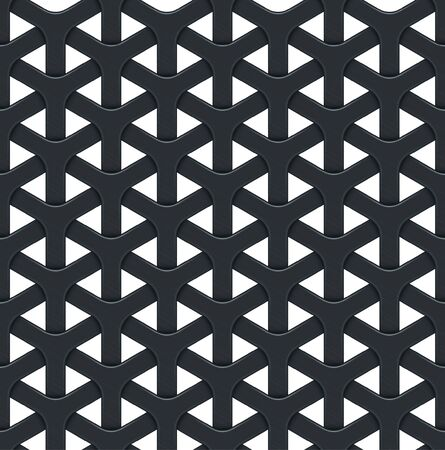 seamless metal: Dark abstract vector background with a metal grid. Seamless texture