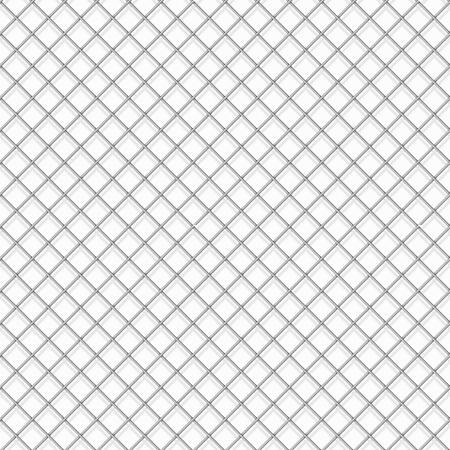 trespass: Seamless cage textured white background. Illustration