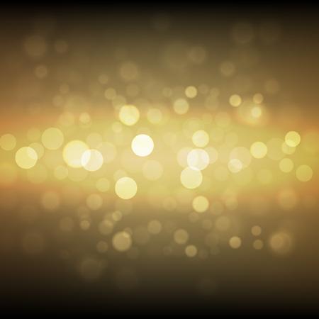 concert poster: Gold sparkle glitter background. Sparkling flow background