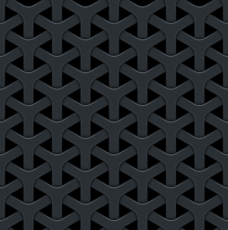 metal grid: Dark abstract vector background with a metal grid. Seamless texture