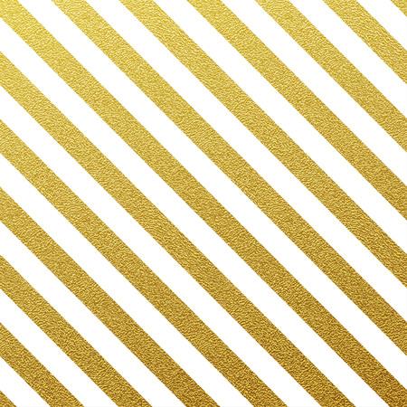 felicitaciones cumpleaÑos: Oro brillante patrón de líneas sin fisuras en el fondo blanco Vectores