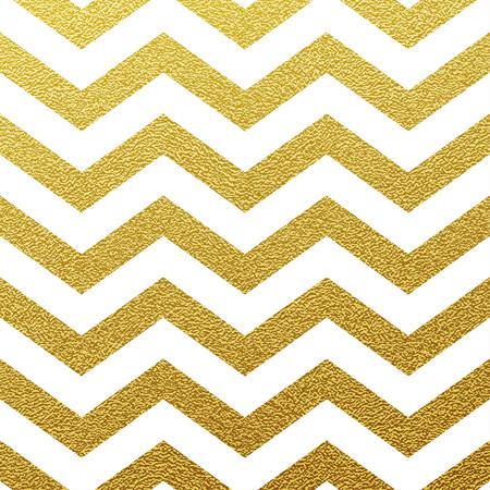 Oro brillante sin fisuras patrón de zigzag sobre fondo blanco Foto de archivo - 45044132