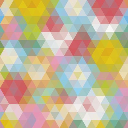 angular: Multicolored angular wattled pattern background. Geometric bonded retro mosaic.