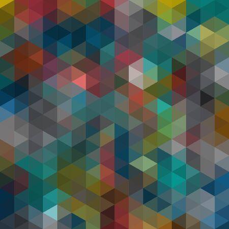 bonded: Multicolored angular wattled pattern background. Geometric bonded retro mosaic.