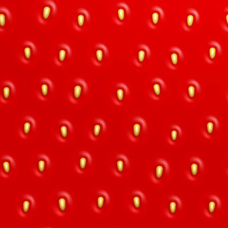 rind: Seamless strawberry texture, Vector background Illustration