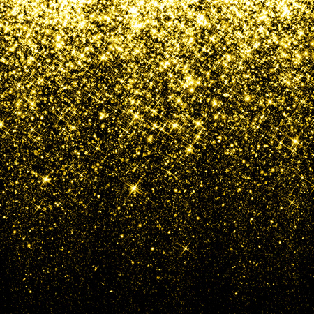 shiny black: Gold sparkle glitter background
