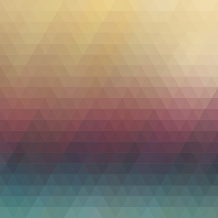 prensado: Multicolored polygonal pressed pattern background. Geometric wattled retro mosaic.