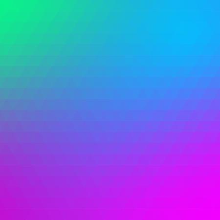 Multicolored polygonal pressed pattern background. Geometric wattled retro mosaic.