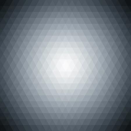 Multicolored polygonal pressed golf ball pattern background. Geometric wattled retro mosaic. Illustration