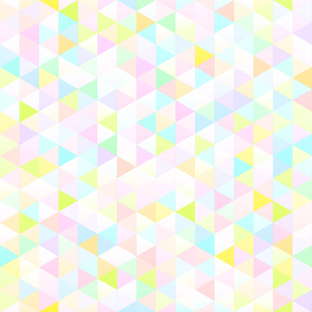 White colored seamless geometric texture. interior polygonal wall panel pattern.