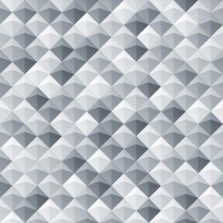 Great Weiß Grau Nahtlose Geometrische Textur. Innen Polygonalen Wandplatte Muster.