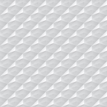 siding: White gray seamless geometric texture. interior polygonal wall panel pattern.