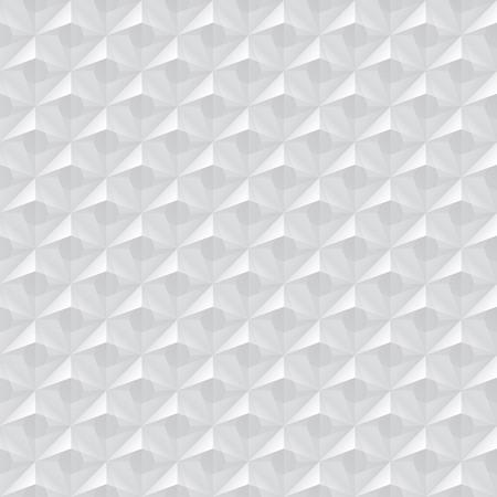 Lovely Weiß Nahtlose Geometrische Textur. Innen Polygonalen Wandplatte Muster.  Standard Bild   46812043