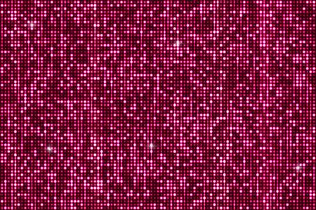 Sfondo paillettes luccicanti rosa. Argento lucido e paillettes nere su un dackground scintillante