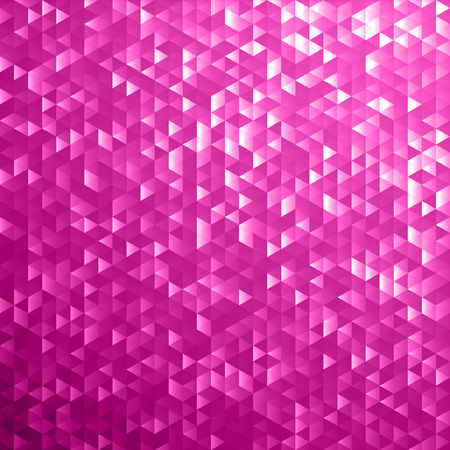 Pink shimmer sequins mosaic background. Shiny silver and black paillettes on glittering dackground