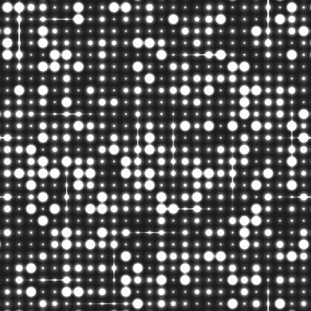 sequins: Silver seamless shimmer sequins background. Shiny silver and black paillettes on glittering dackground Illustration