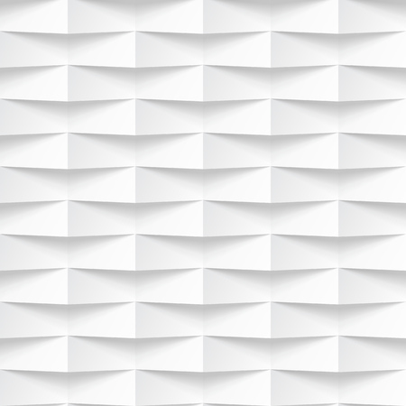interior decoration: White seamless texture. Wavy background. Interior wall decoration. Vector interior panel pattern.