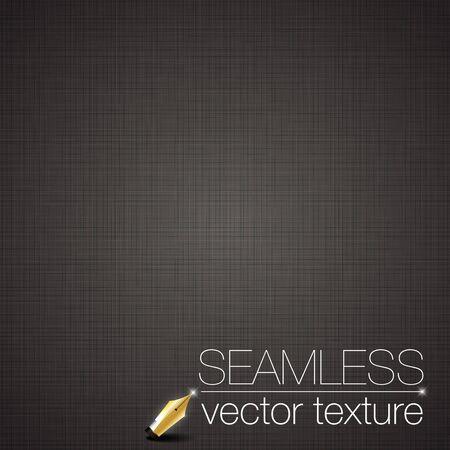 Black seamless linen background texture.