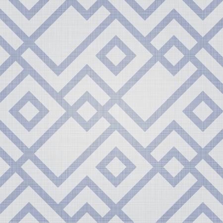 seamless tile: Retro geometric polygonal zigzag parquet seamless pattern