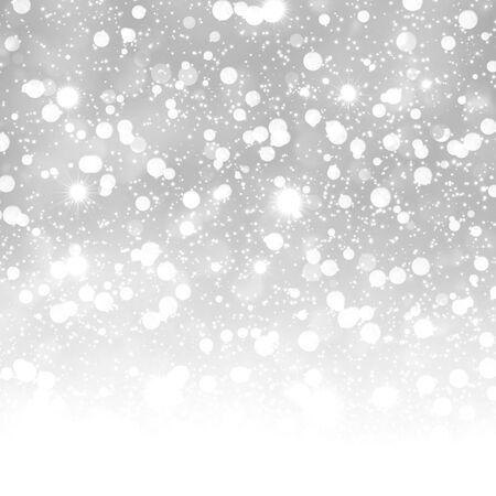the snowflake: Defocused abstract background of defocused lights