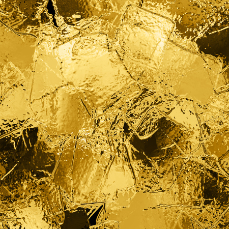 industrial design: Illustration of abstract gold background with copy space. Gold glitter background. Gold glittering texture. Hi-res golden grunge background. Metal plate texture