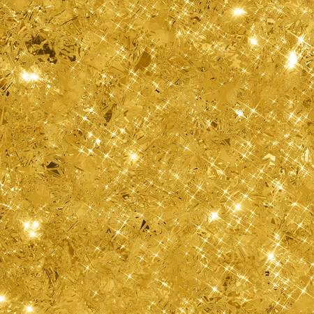 Abstract gold background with copy space. Gold glitter background. Gold glittering texture. 写真素材