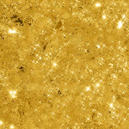Abstracte gouden achtergrond met een kopie ruimte. Gouden glitter achtergrond. Goud glinsterende textuur.