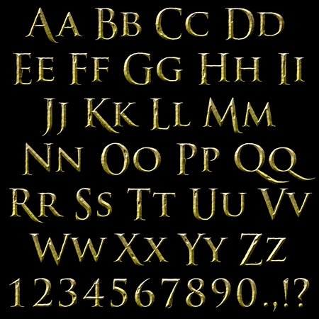 spacing: Rough chisel stone font with brushed texture. Old roman font. Inspired by Tolkien Hobbit.