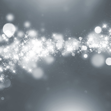 Abstract glittering winter bokeh background Stock Photo