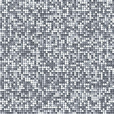 discoball: Seamless shimmer background with shiny paillettes. Glittering sequins texture.