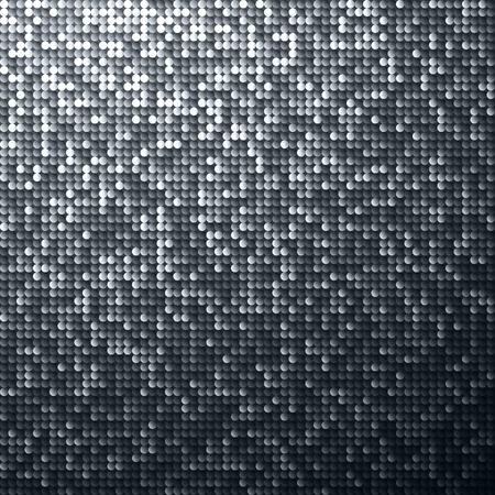 nightclub: Seamless shimmer background with shiny paillettes. Glittering sequins texture.