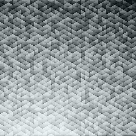 lamina: Silver gray glittering lamina sequins mosaic angular dimensional pattern. Illustration