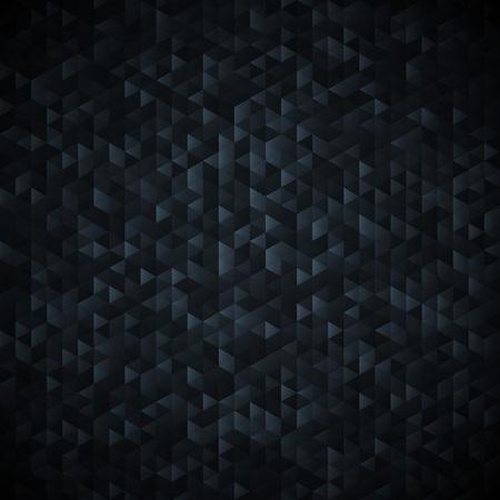 lamina: Dark  graphit glittering lamina sequins mosaic angular dimensional pattern. Illustration