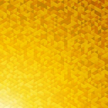 Oro giallo paillettes scintillanti lamina mosaico modello dimensionale angolare. Archivio Fotografico - 47417975