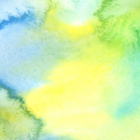 watercolor paper: Abstract colorful watercolor background on paper texture