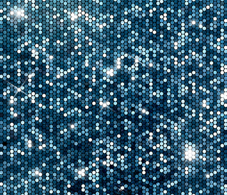 Silber Glitter Hintergrund. Glitzernde Pailletten Wand. Standard-Bild - 47749470