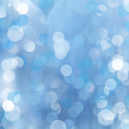 brilliance: Brilliance of sun beams sparkle from center on twinkling blue luminous abstract background.