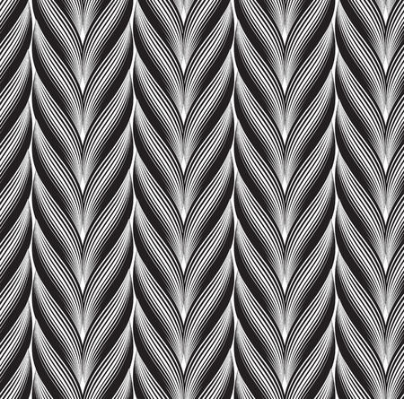 weave: Seamless textile wool fibre weave graphic wallpaper pattern